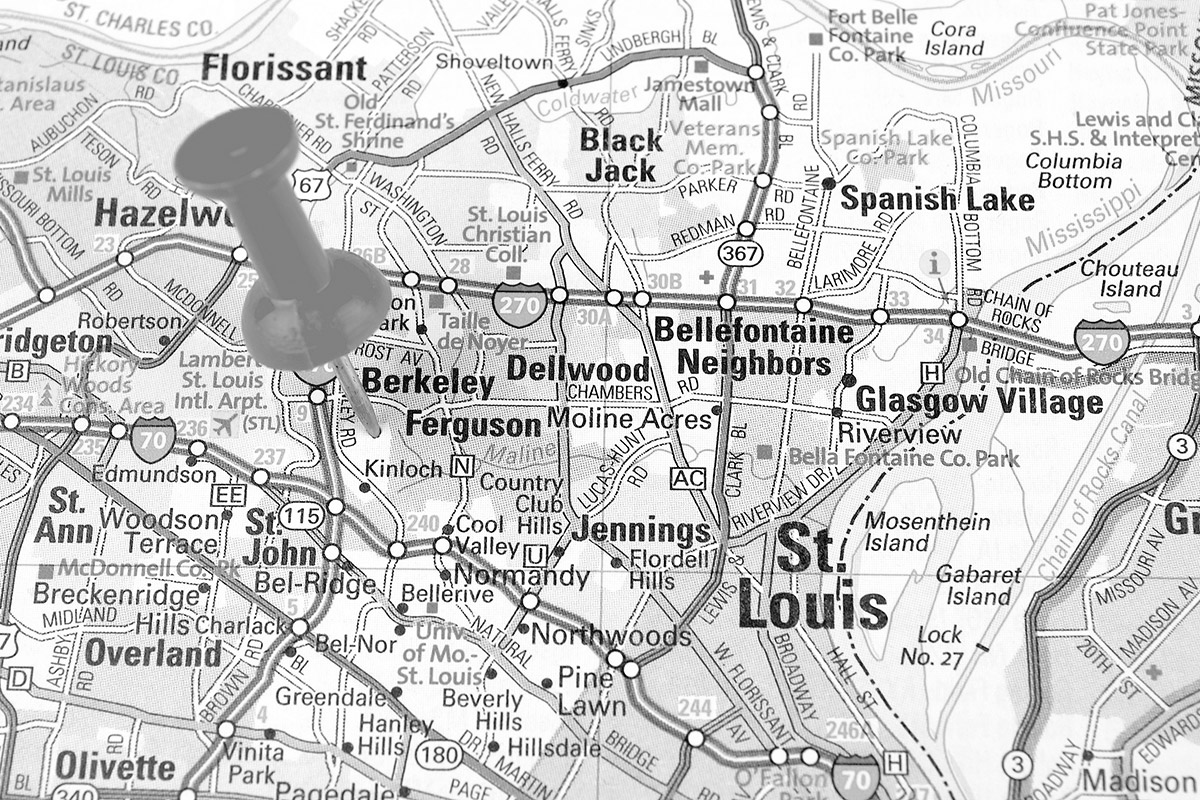 Ferguson Map